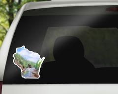 Wisconsin Sticker - Wisconsin Vinyl Decal