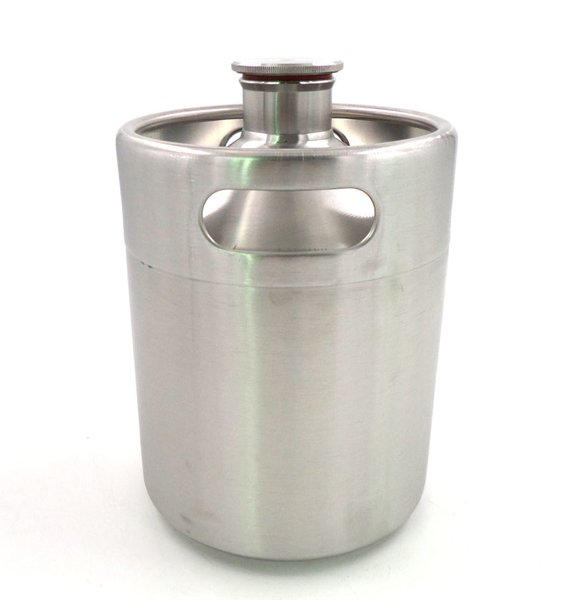 64 Oz Stainless Steel Mini Keg East Coast Brew Parts Llc