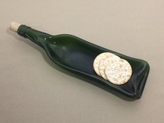 Recycled Wine Bottle Serving Bowl