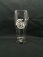 Dandelion, Hand Painted Pilsner