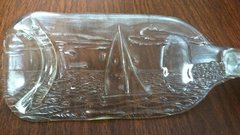 Sailboat, Recycled Wine Bottle, Serving Tray