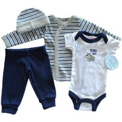 Soft Touch Low Birth Weight Tiny Baby 4 piece outfit. Available to fit up to 7lbs