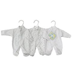 Bee Bo Early Arrival Premature 'Stars' Velour All-in-One. Available in choice of 3 colours and two tiny sizes.