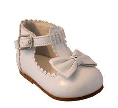 T-Bar Sevva Sally shoe with diamanté bow