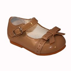 Sevva Carol Baby Patent Hard Sole First Walking Shoe. (Discontinued - Limited Stock only)
