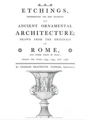 ETCHINGS OF ANCIENT ORNAMENTAL ARCHITECTURE