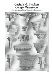 CAPITALS & BRACKETS COMPO ORNAMENTS FOR WOODWORK & INTERIOR DECORATION