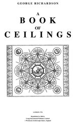 A BOOK OF CEILINGS