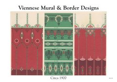 VIENNESE MURAL & BORDER DESIGNS