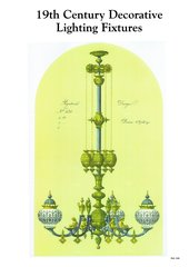 19TH CENTURY DECORATIVE LIGHT FIXTURES