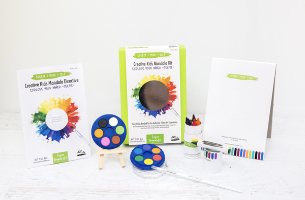 CREATIVE KIDS MANDALA KIT