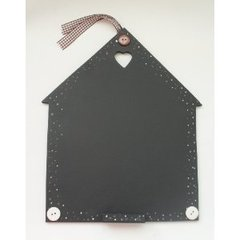 New Home Birdhouse Wooden Chalkboard Gift Keepsake Plaque