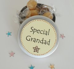 Special Grandad Treat Tin of Mint Toffees