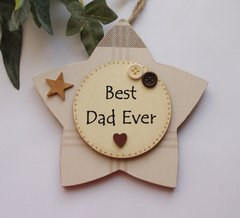 Best Dad Double Layer Star Craftworks Limited Edition
