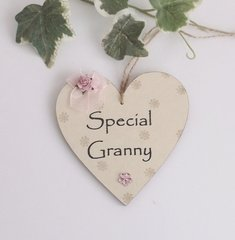 Special Granny Wooden plaque/Gift Tag