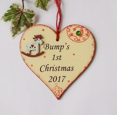 Bump's First Christmas