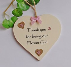 Thank you for being our beautiful Flower Girl