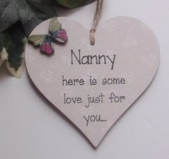 Nanny here is some love just for you
