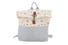 Sing a song of sixpence small canvas backpack