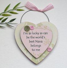 Nana Gift Heart Keepsake