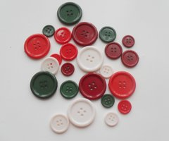 Rayher Christmas Button mix