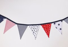 Bright Midi Nautical Bunting