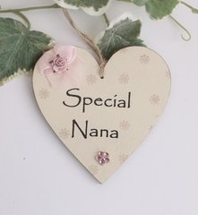 Special Nana Wooden plaque/Gift Tag