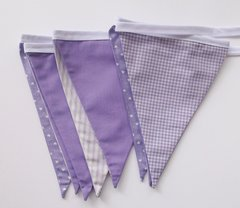 Purple midi baby bunting