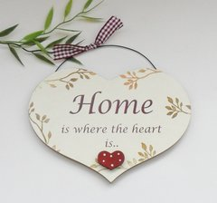 New Home Wooden Plaque