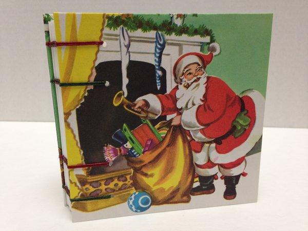 Little Golden Books Santa