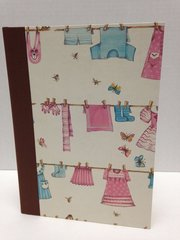 Baby Book Pink and Blue