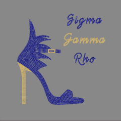 Sigma Gamma Rho Flare shoe