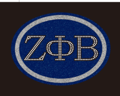 Zeta Greek Oval