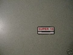 61778-60 Super-10 Decal