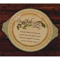 Platter - Irish Christmas Blessing - AP#54097