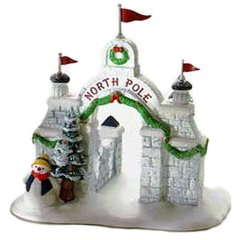 Department 56 - North Pole Village - North Pole Gate- # 56324