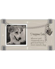 Frame - Doggone Cute with Bracelet - Cathedral Art GF211