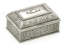 Jewelry Box - Claddagh - Mullingar Pewter 2099