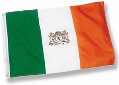Coat of Arms - Family Crest - Heraldy - Irish 2'x3' Flag