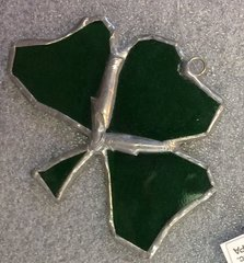 Stained Glass - Shamrock - Small