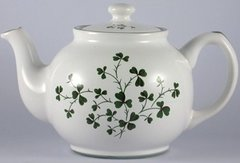 Teapot - Large with Shamrocks