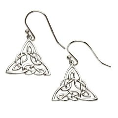 Earrings - Trinity - Sterling - Shanore SE2002