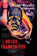 Bride of Frankenstein, Saturday, October 28, 7:00 pm