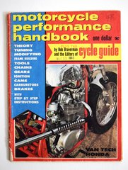 """VanTech Honda 160"" By Bob Braverman - Motorcycle Performance Handbook (May 1968)"