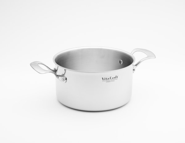 Commercial 4 Quart Pan Vita Craft Corporation Made In