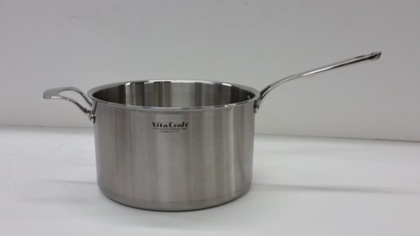 Vita craft commercial 8 quart pan with a long handle for Vita craft factory outlet