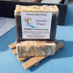 Canarble Wagon ~ Handcrafted Beer, Shea Butter, & Hemp Oil Soap
