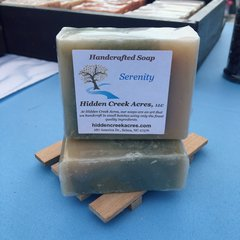 *LIMITED EDITION* Serenity ~ Handcrafted Goat's Milk, Shea Butter, & Hemp Oil Soap