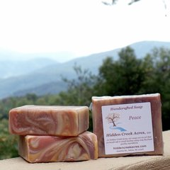 *LIMITED EDITION* Peace ~ Handcrafted Beer, Shea Butter, & Hemp Oil Soap