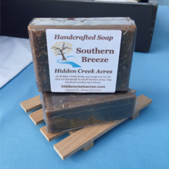 Southern Breeze ~ Handcrafted Aloe, Shea Butter, & Hemp Oil Soap